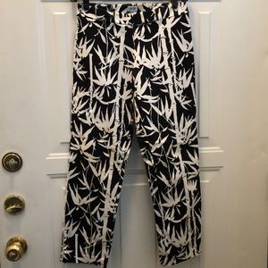 Black and white pants by cache